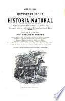 Revista chilena de historia natural pura y aplicada