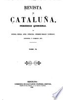 Revista de Cataluña, periódico quincenal ...