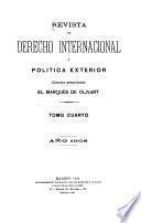 Revista de derecho internacional y política exterior