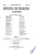 Revista de derecho y jurisprudencia