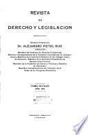 Revista de derecho y legislación