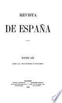 REVISTA DE ESPANA