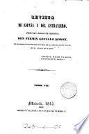 Revista de España y del estrangero. Dir. y red. principal, F. Gonzalo Moron