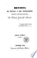 Revista de España y del estranjero