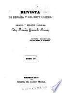 Revista de Espana y del Estranjero