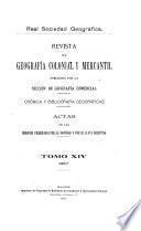 Revista de geografía colonial y mercantil