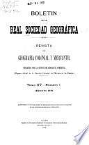 Revista de geografiá colonial y mercantil