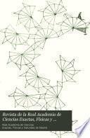Revista de la Real Academia de Ciencias Exactas, Físicas y Naturales de Madrid