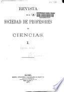 Revista de la Sociedad de Profesores de Ciencias