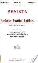 Revista de la Sociedad Estudios Jurídicos