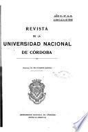 Revista de la Universidad Nacional de Córdoba