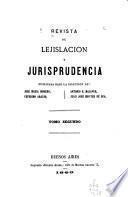 Revista de lejislacion y jurisprudencia