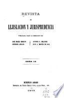 Revista de lejislación y jurisprudencia