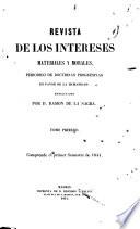 Revista de los intereses materiales y morales