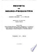 Revista de neuro-psiquiatría
