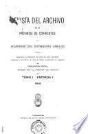 Revista del archivo de la provincia de Corrientes