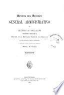 Revista del Archivo General Administrativo