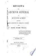Revista del Archivo General de Buenos Aires