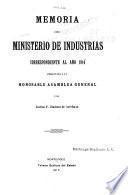 Revista del Ministerio de Industrias