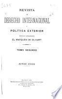 Revista española de derecho internacional y política exterior