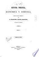 Revista Forestal Económica y agricola