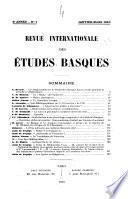 Revista internacional de los estudios vascos