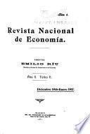 Revista nacional de economía ...