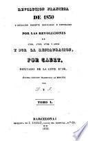 Revolución Francesa de 1830, 1