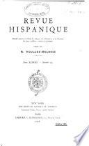 Revue hispanique