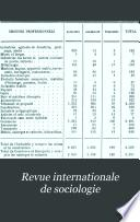 Revue Internationale de Sociologie