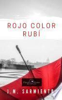Rojo color rubí