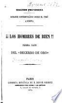 Romance contemporáneo sobre el Perú (1867): Los hombres de bien!!