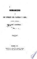 Romancero de Don Enrique del Castillo y Alba