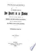 Romancero de El ingenioso hidalgo Don Quijote de la Mancha