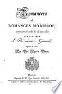 Romancero de romances moriscos