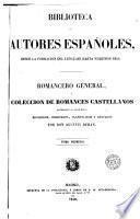 Romancero general, ó, Colección de romances castellanos anteriores al siglo XVIII, 1
