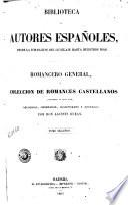 Romancero general, ó, Coleccion de romances castellanos