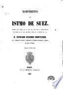 Rompimiento del istmo de Suez