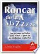 RONCAR DE LA A A LA ZZzz