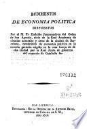 Rudimentos de economía política