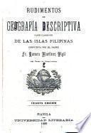 Rudimentos de geografía descriptiva particularmente de las Islas Filipinas