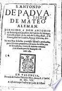 S. Antonio de Padua de Mateo Aleman ...