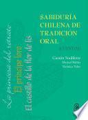 Sabiduría chilena de tradición oral