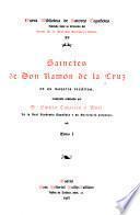 Sainetes de Don Ramón de la Cruz
