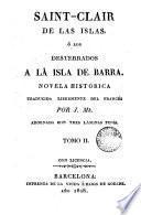 Saint-Clair de las Islas; ó Los desterrados a la isla de barra, 2