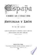 Salamanca, Ávila y Segovia. (España). Asturias y León. (España).
