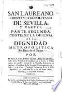 San Laureano, Obispo metropolitano de Sevilla y martyr