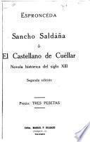Sancho Saldaña, o, El castellano de Cuéllar