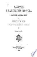 Sanctus Franciscus Borgia