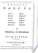 Sanctus Marcus